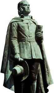 estátua de Thomas Hooker